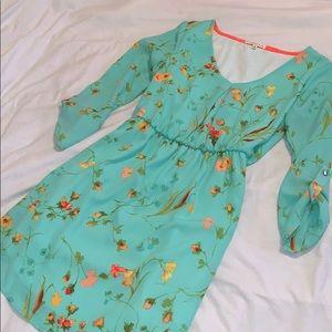 Mint Floral Dress 🌸